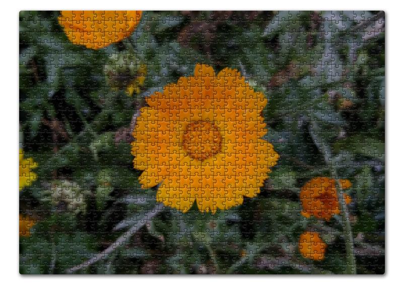 Пазл 43.5 x 31.4 (408 элементов) Printio Летние цветы флексика коврик пазл цветы