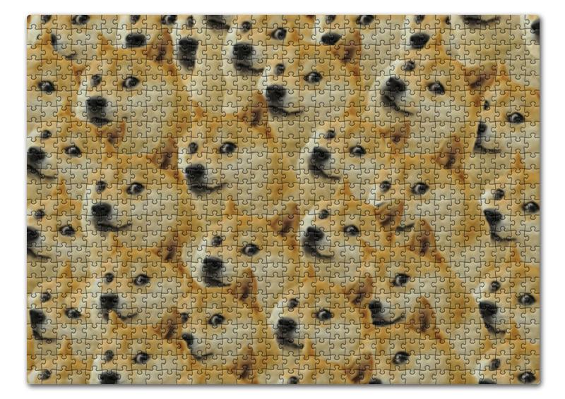 Пазл 43.5 x 31.4 (408 элементов) Printio Doge