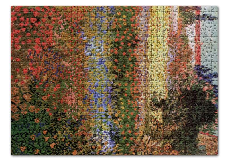 торт printio цветущий сад винсент ван гог Пазл 43.5 x 31.4 (408 элементов) Printio Цветущий сад (винсент ван гог)
