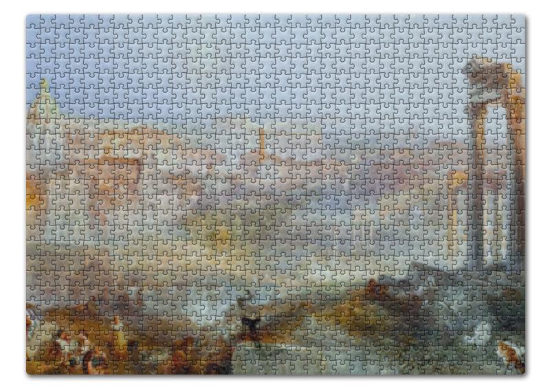 Пазл 43.5 x 31.4 (408 элементов) Printio Современный рим — кампо ваччино yamamoto kampo 100