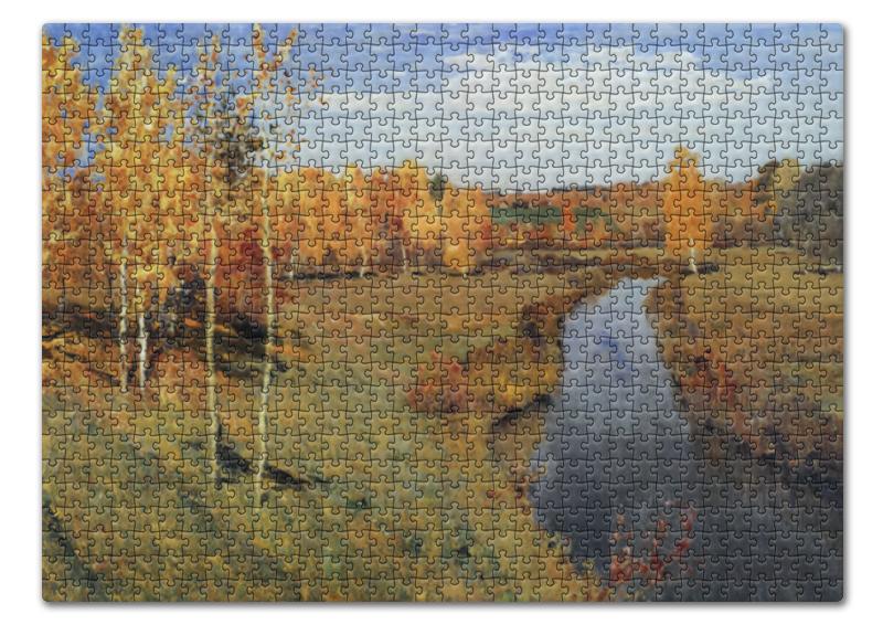 Пазл 43.5 x 31.4 (408 элементов) Printio Золотая осень (картина левитана)