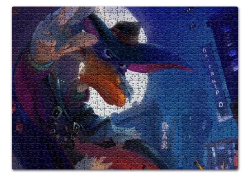 Пазл 43.5 x 31.4 (408 элементов) Printio Черный плащ пазл 43 5 x 31 4 408 элементов printio пони