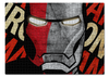 "Пазл 43.5 x 31.4 (408 элементов) ""Железный человек"" - комиксы, марвел, iron man, tony stark, тони старк"