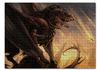 "Пазл 43.5 x 31.4 (408 элементов) ""Дракон"" - дракон, dragon, варвар, barbarian"