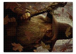 """Пазл 43.5 x 31.4 (408 элементов) """"Гэндальф"""" - кино, властелин колец, хоббит, hobbit, фродо"""