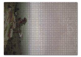 "Пазл 43.5 x 31.4 (408 элементов) ""Север (картина Куинджи)"" - картина, архип куинджи"