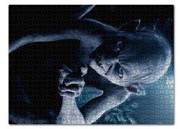 "Пазл 43.5 x 31.4 (408 элементов) ""Голлум"" - кино, властелин колец, хоббит, прелесть, фродо"