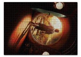 """Пазл 43.5 x 31.4 (408 элементов) """"Хоббит"""" - кино, властелин колец, hobbit, фродо, бильбо"""