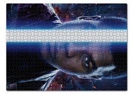 """Пазл 43.5 x 31.4 (408 элементов) """"Звездные войны - Финн"""" - кино, фантастика, star wars, звездные войны, дарт вейдер"""