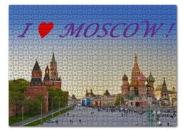 "Пазл 43.5 x 31.4 (408 элементов) ""I love Moscow !"" - stile"