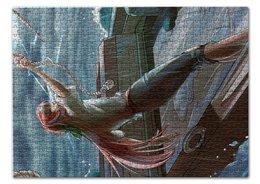 """Пазл 43.5 x 31.4 (408 элементов) """"Девять баллов по Бофорту"""" - океан, шторм, projectpanda"""