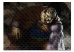 "Пазл 43.5 x 31.4 (408 элементов) ""Бизарро"" - комиксы, superman, супермэн, dc comics, bizarro"