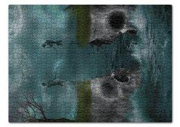 """Пазл 43.5 x 31.4 (408 элементов) """"Dark Art"""" - skull, череп, любовь, skeleton, скелет"""