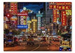 "Пазл 43.5 x 31.4 (408 элементов) ""Китайский квартал"" - китай"