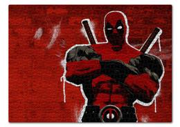 """Пазл 43.5 x 31.4 (408 элементов) """"Дэдпул (Deadpool)"""" - комиксы, марвел, дэдпул, deadpoo"""