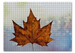 """Пазл 43.5 x 31.4 (408 элементов) """"Осень"""" - осень, головоломка, подарок, сюрприз, золотая осень"""