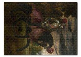 """Пазл 43.5 x 31.4 (408 элементов) """"Конный портрет Карла V (Тициан)"""" - картина, тициан"""