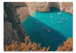 """Пазл 43.5 x 31.4 (408 элементов) """"Summer time!"""" - лето, море, пляж, пазл, океан"""
