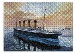 """Пазл 43.5 x 31.4 (408 элементов) """"Титаник"""" - фильмы, титаник"""