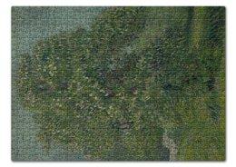 "Пазл 43.5 x 31.4 (408 элементов) ""Каштан в цвету (Винсент Ван Гог)"" - картина, ван гог, живопись"