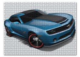 """Пазл 43.5 x 31.4 (408 элементов) """"Chevrolet Camaro/ Шевроле Камаро"""" - автомобиль, chevrolet, camaro, шевроле, камаро"""
