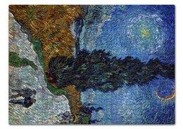 "Пазл 43.5 x 31.4 (408 элементов) ""Дорога с кипарисом и звездой (Винсент Ван Гог)"" - картина, ван гог, живопись"