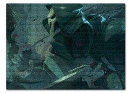 "Пазл 43.5 x 31.4 (408 элементов) ""Жнец "" - blizzard, близзард, overwatch, reaper, овервотч"