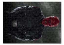 """Пазл 43.5 x 31.4 (408 элементов) """"Красный череп"""" - комиксы, marvel, марвел, капитан америка, гидра"""