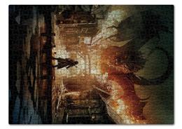 """Пазл 43.5 x 31.4 (408 элементов) """"Хоббит"""" - дракон, кино, властелин колец, hobbit, фродо"""