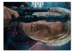 """Пазл 43.5 x 31.4 (408 элементов) """"Звездные войны - Хан Соло"""" - кино, фантастика, star wars, звездные войны, дарт вейдер"""