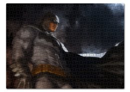 "Пазл 43.5 x 31.4 (408 элементов) ""Бэтмен"" - комиксы, batman, бэтмен, dc, dc comics"