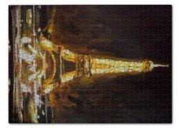 "Пазл 43.5 x 31.4 (408 элементов) ""Париж"" - шоколад, париж, paris, эйфелева башня"