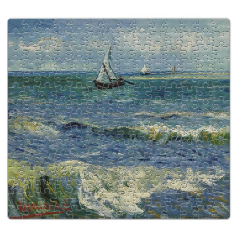 Пазл магнитный 27.4 x 30.4 (210 элементов) Printio Морской пейзаж у сент-мари-де-ла-мер (ван гог) де ла мотт а игра