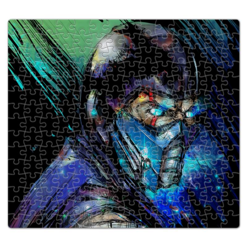 Пазл магнитный 27.4 x 30.4 (210 элементов) Printio Mortal kombat x (sub-zero) 10pcs lot db15 3rows parallel vga port hdb9 15 pin d sub male solder connector metal shell cover