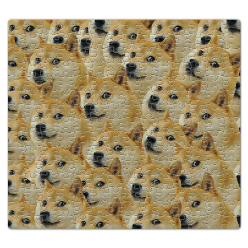 Пазл магнитный 27.4 x 30.4 (210 элементов) Printio Doge купить акиту ину от японских родителей