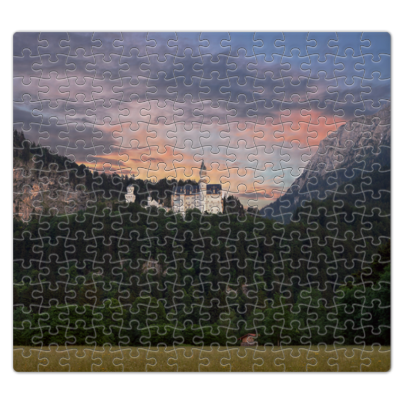 Пазл магнитный 27.4 x 30.4 (210 элементов) Printio Замок нойшванштайн источник бесперебойного питания apc smart ups smt1500rmi2u