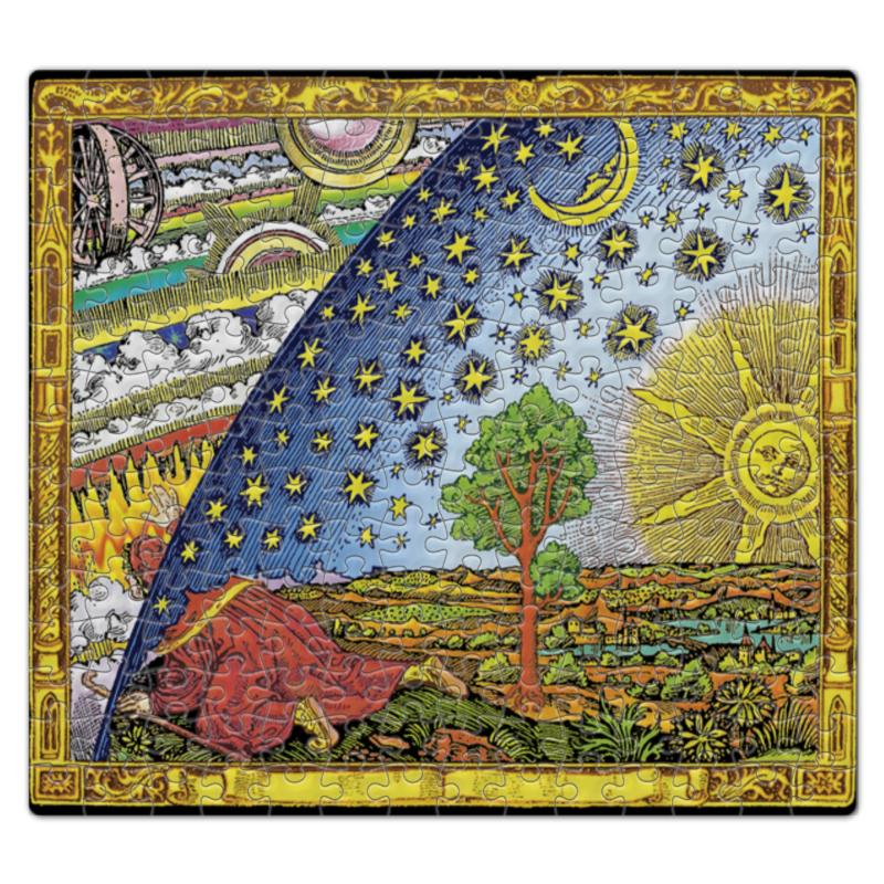 к в кольбе пейзаж гравюра германия начало xix века Пазл магнитный 27.4 x 30.4 (210 элементов) Printio Гравюра фламмариона в цвете