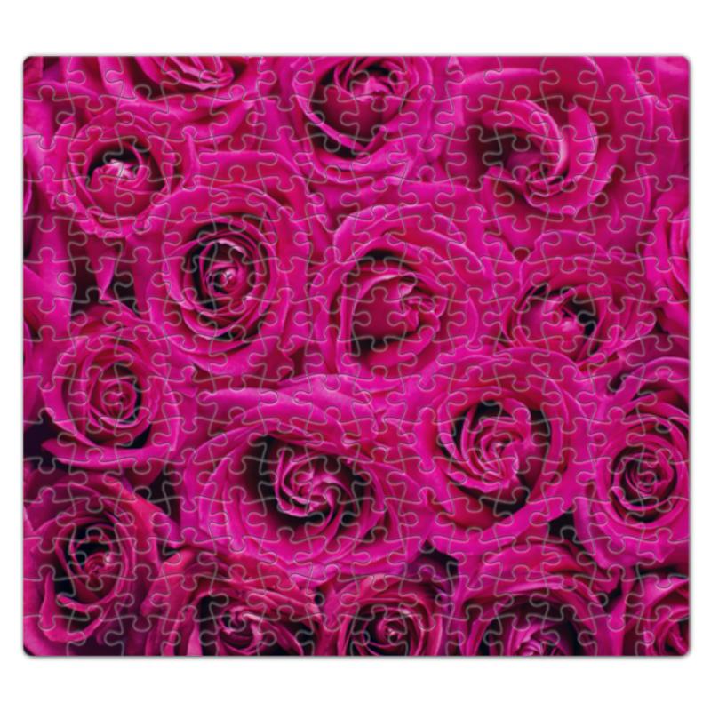 Пазл магнитный 27.4 x 30.4 (210 элементов) Printio Pink roses наколенник магнитный здоровые суставы