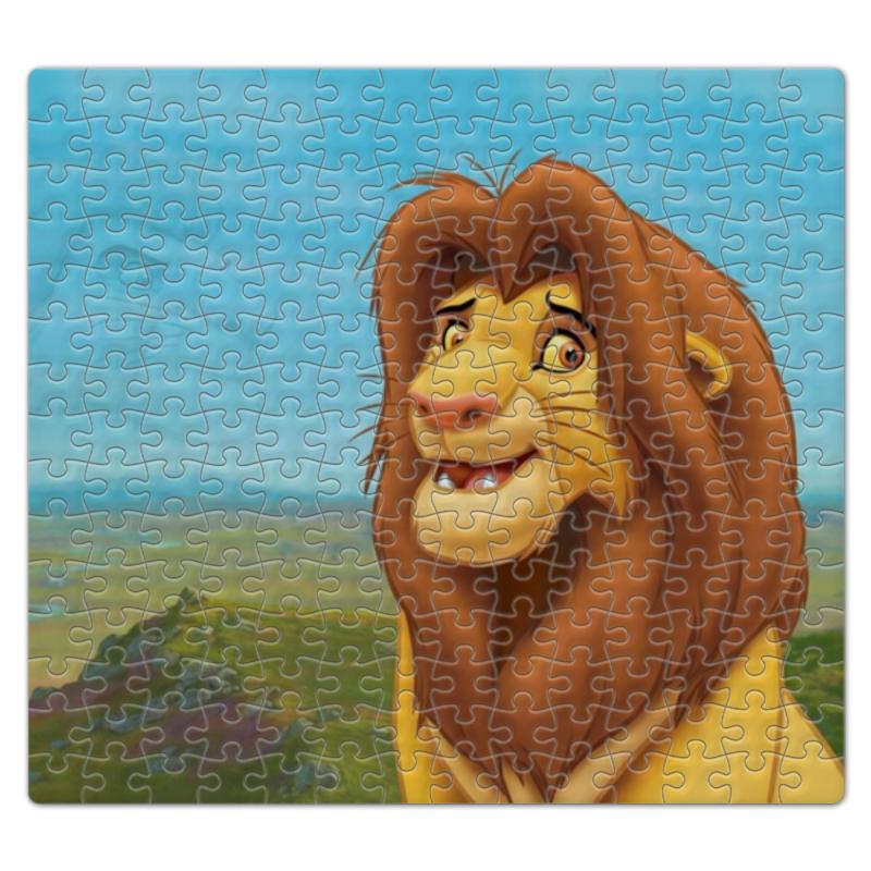 Пазл магнитный 27.4 x 30.4 (210 элементов) Printio Король лев пазл 360 арт терапия лев 02347