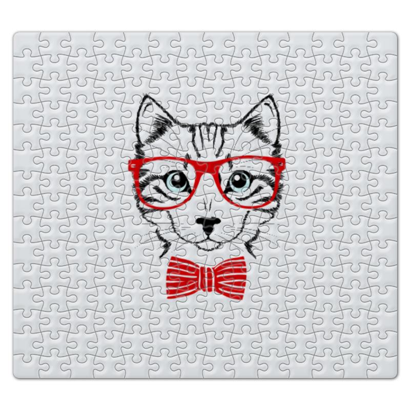 Пазл магнитный 27.4 x 30.4 (210 элементов) Printio Кошка пазл оригами арт терапия кошка 360 элементов