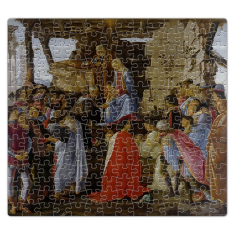 Пазл магнитный 27.4 x 30.4 (210 элементов) Printio Поклонение волхвов (боттичелли)