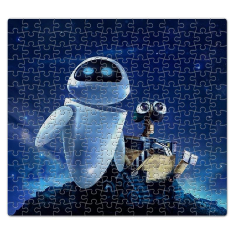 Пазл магнитный 27.4 x 30.4 (210 элементов) Printio Главные герои мультфильма валл-и