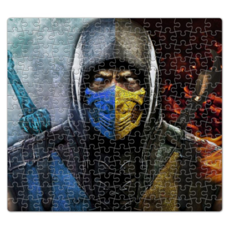 Пазл магнитный 27.4 x 30.4 (210 элементов) Printio Mortal kombat видеоигра для ps4 mortal kombat x special edition
