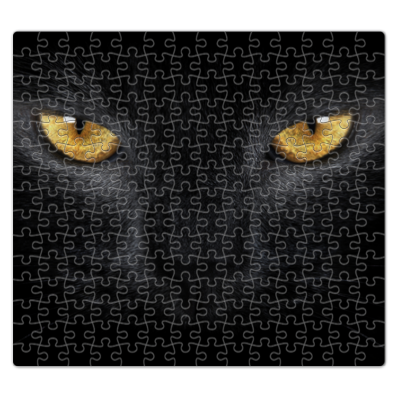 Пазл магнитный 27.4 x 30. (210 элементов) Printio Кошка