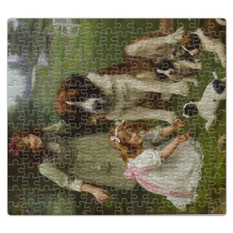 Пазл магнитный 27.4 x 30.4 (210 элементов) Printio Картина артура элсли (1860-1952) пазл магнитный 18 x 27 126 элементов printio картина артура элсли 1860 1952