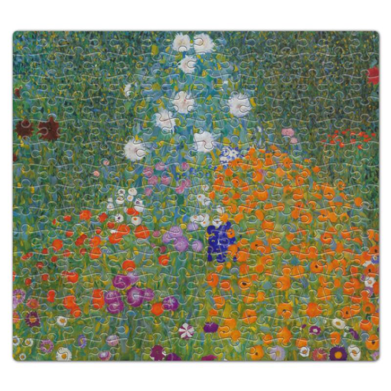 Пазл магнитный 27.4 x 30.4 (210 элементов) Printio Цветочный сад (густав климт) пазл магнитный 18 x 27 126 элементов printio враждебные силы густав климт