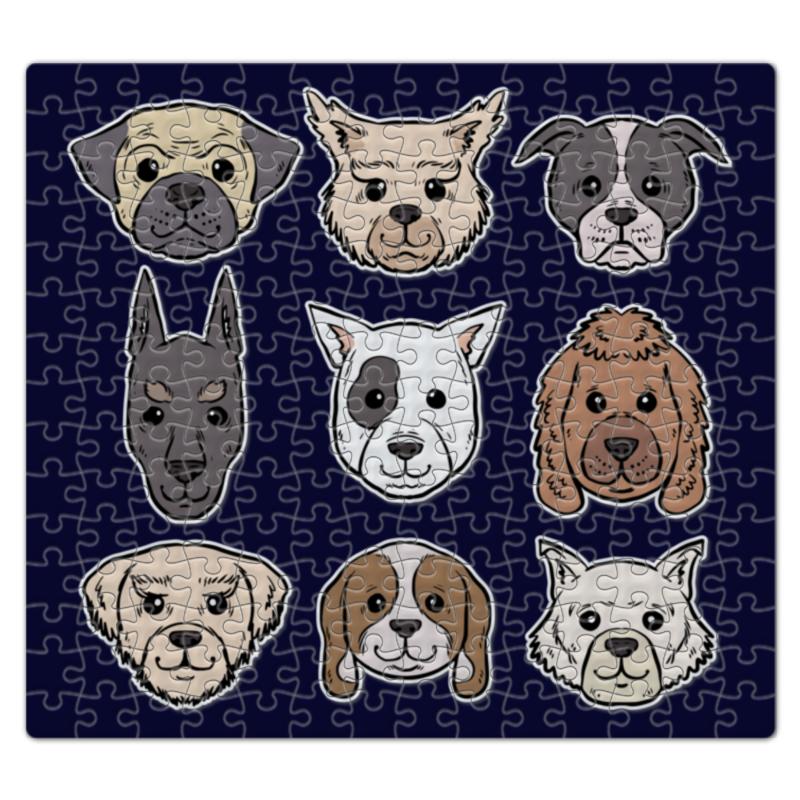 Пазл магнитный 27.4 x 30.4 (210 элементов) Printio Собаки пазл магнитный 27 4 x 30 4 210 элементов printio 2018 год собаки