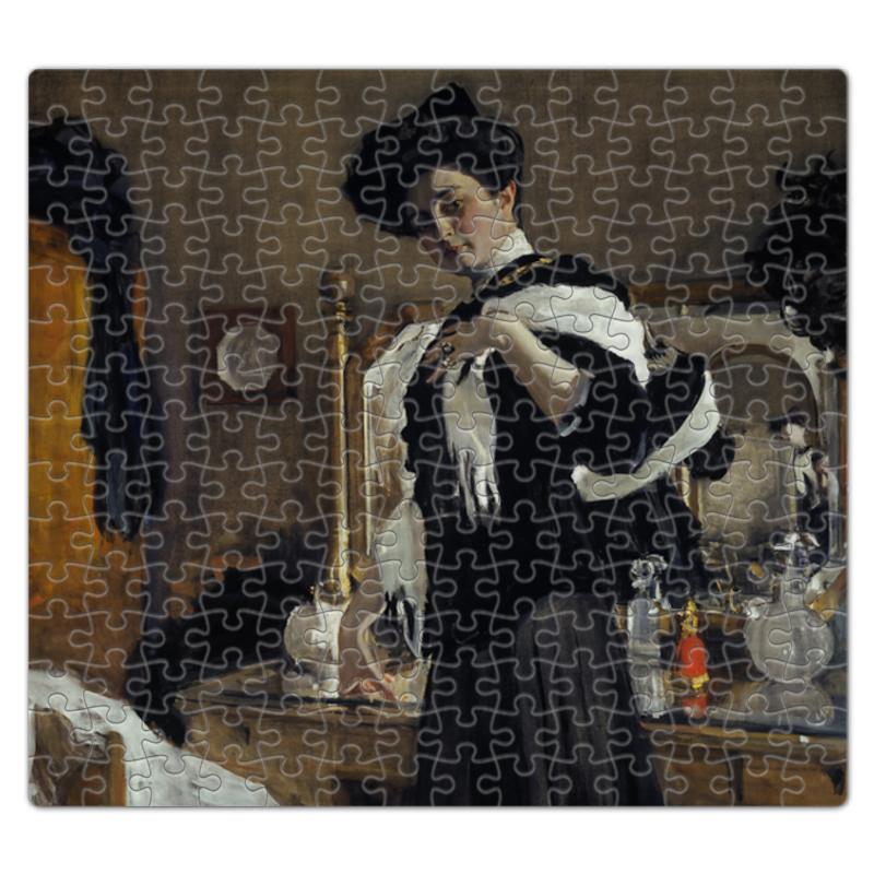 Пазл магнитный 27.4 x 30.4 (210 элементов) Printio Портрет г.л.гиршман (валентин серов) валентин стрыкало валентин стрыкало часть чего то большего