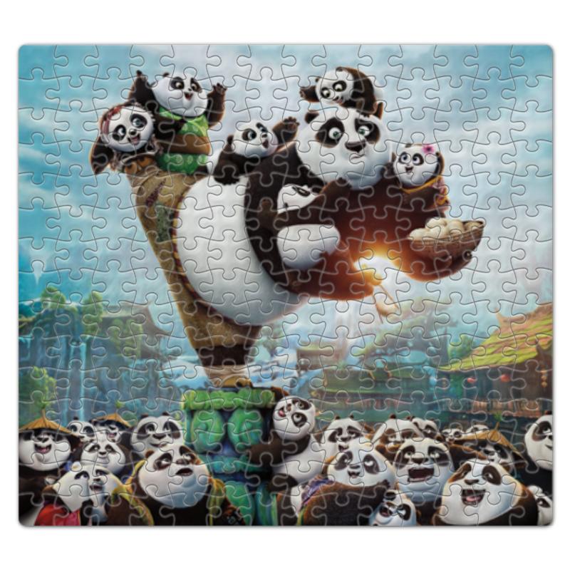Пазл магнитный 27.4 x 30.4 (210 элементов) Printio Кунг-фу панда наколенник магнитный здоровые суставы