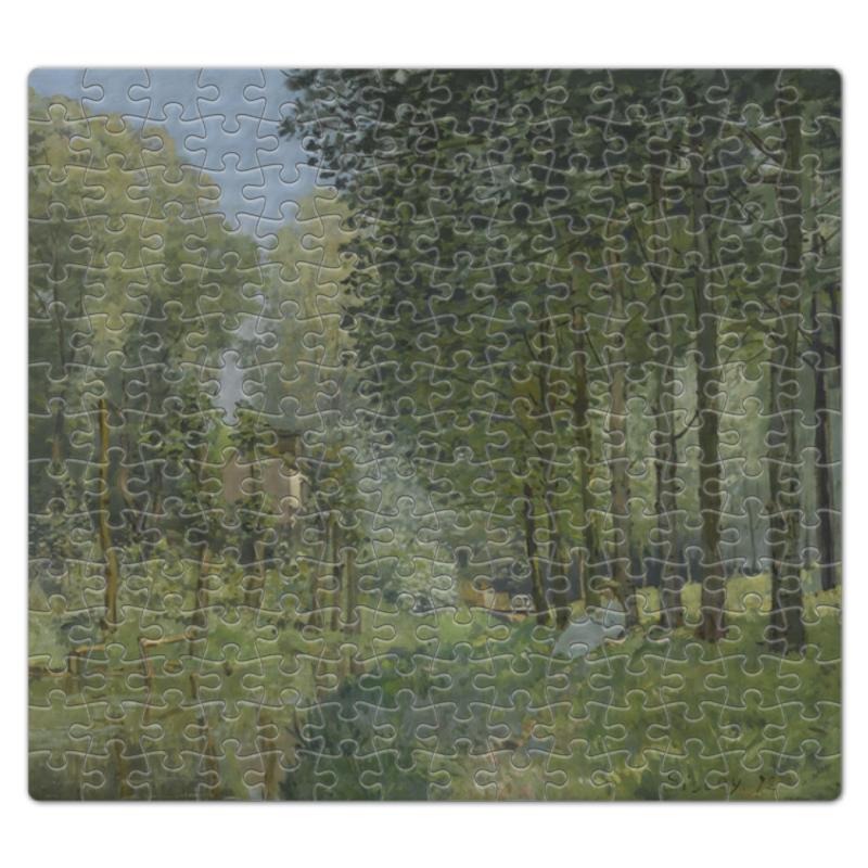 Фото - Пазл магнитный 27.4 x 30.4 (210 элементов) Printio Отдых у ручья (альфред сислей) сислей шедевры